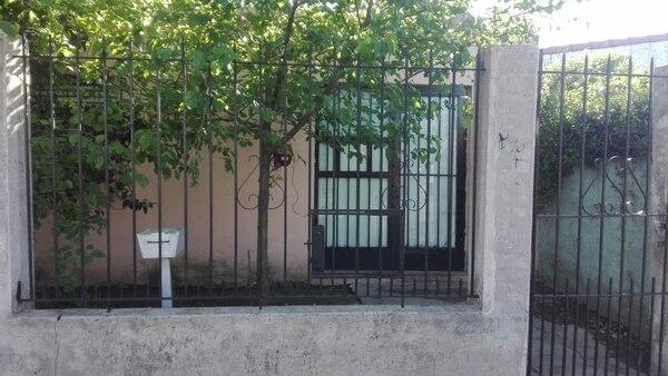 El domicilio donde vivía Zamira junto a su mamá, su hermana melliza y sus abuelos