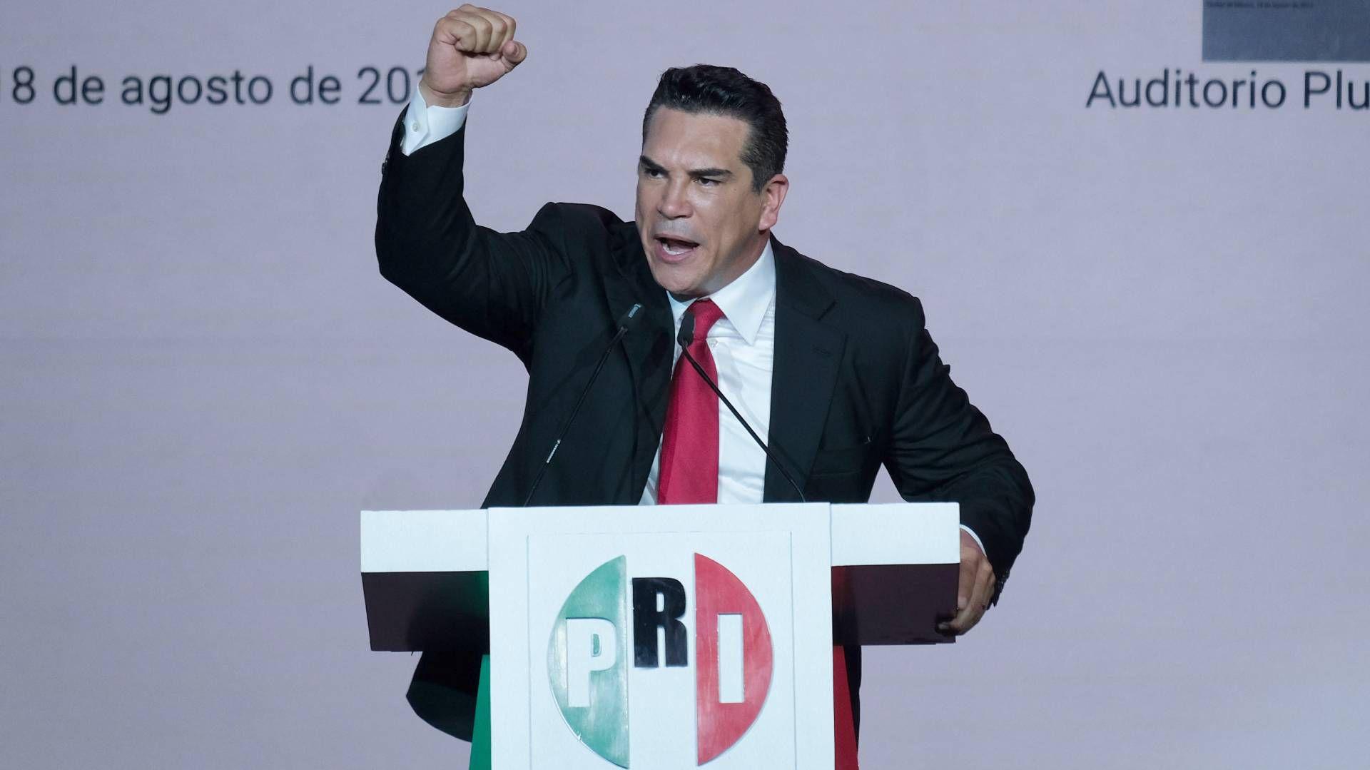 Alejandro Moreno, dirigente nacional del Partido Revolucionario Institucional, aparece en la lista de plurinominales  (Foto: Graciela López / Cuartoscuro)