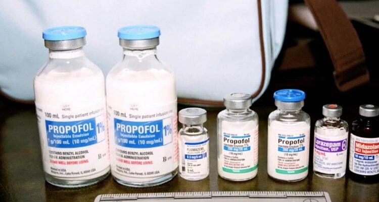 La medicación encontrada en la habitación de Michael Jackson (Foto: Especial)