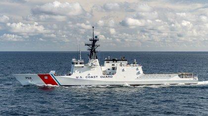 La Guardia Costera de EEUU desplegó el buque USCGC Stone (WMSL 758)