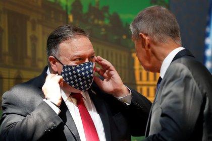 El secretario de Estado de Estados Unidos, Mike Pompeo. Foto: Petr David Josek