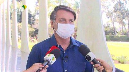 Bolsonaro anunció que dio positivo al Covid-19 (Captura de pantalla)
