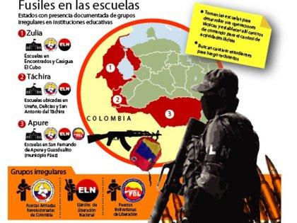Los estados venezolanos más afectados