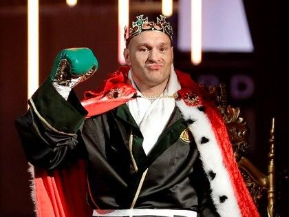 El rey se coronó campeón de los pesados del CMB