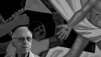 13/07/2011 Pere Casaldàliga en una fotografía de Joan Guerrero en Brasil, incluida en la exposición de Casa Amèrica Catalunya 'Pere Casaldàliga, de professió l'esperança' SOCIEDAD ESPAÑA EUROPA CATALUÑA JOAN GUERRERO
