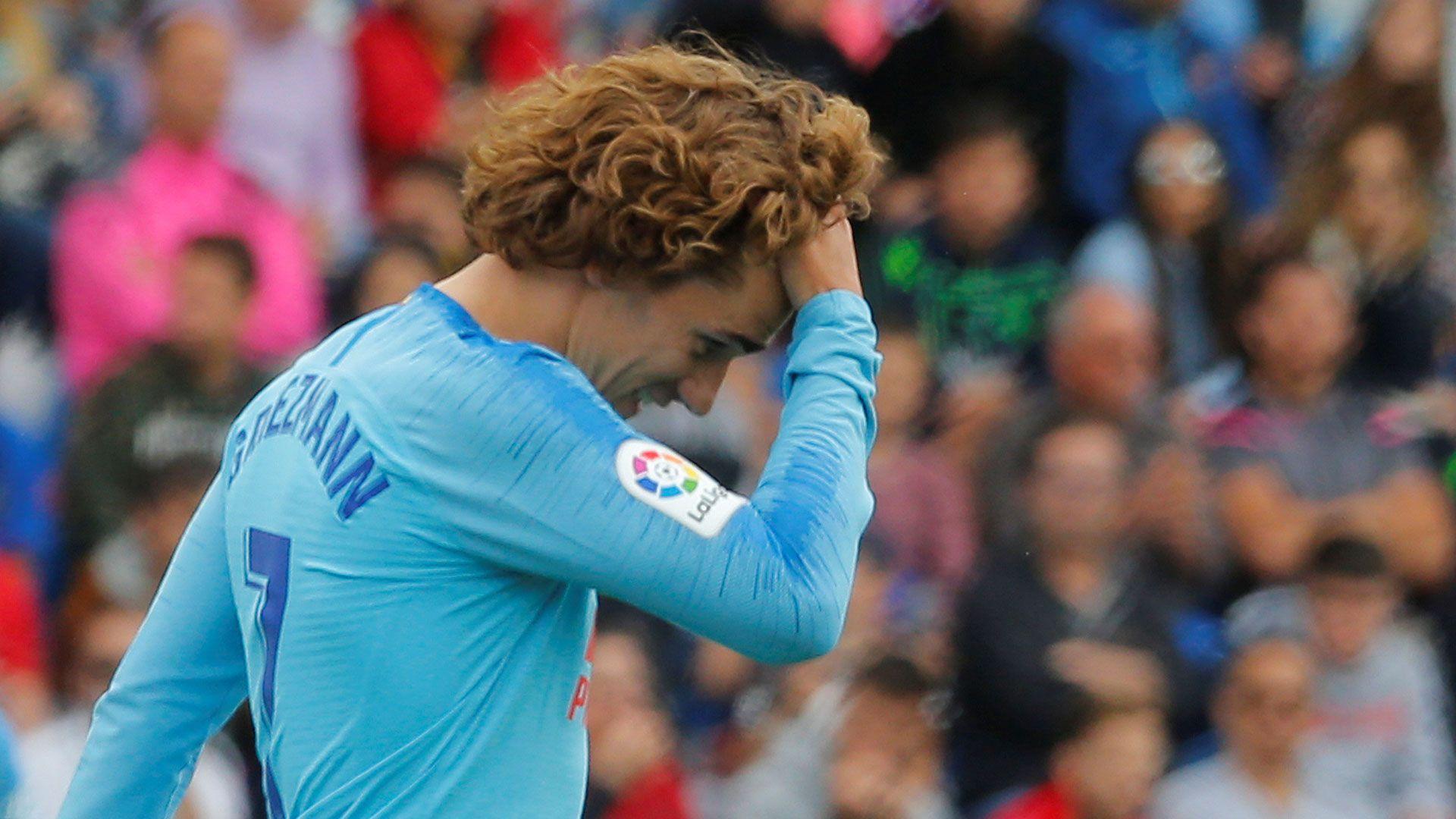 Griezmann se despidió del Atlético de Madrid entre silbidos y abucheos de la afición (Reuters)