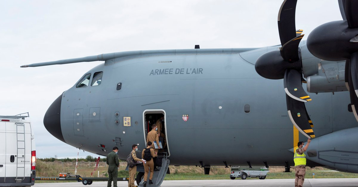 French and German military planes conducted evacuation flights from Kabul