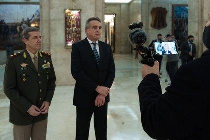 Las deliberaciones se llevarán adelante en las Instalciones del Edificio Libertador (Adrián Escandar)