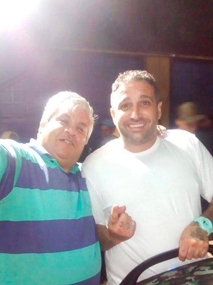 Mauro Martín y Gori, de zona Oeste, en el festejo