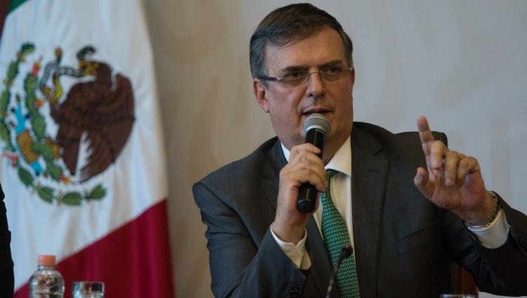 El canciller mexicano Marcelo Ebrard fue el responsable de las negociaciones con Estados Unidos para evitar la imposición de aranceles (Foto: Cuartoscuro)