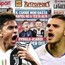 Los principales medios deportivos de Italia hablan de un trueque entre Juventus e Inter por Paulo Dybala y Mauro Icardi