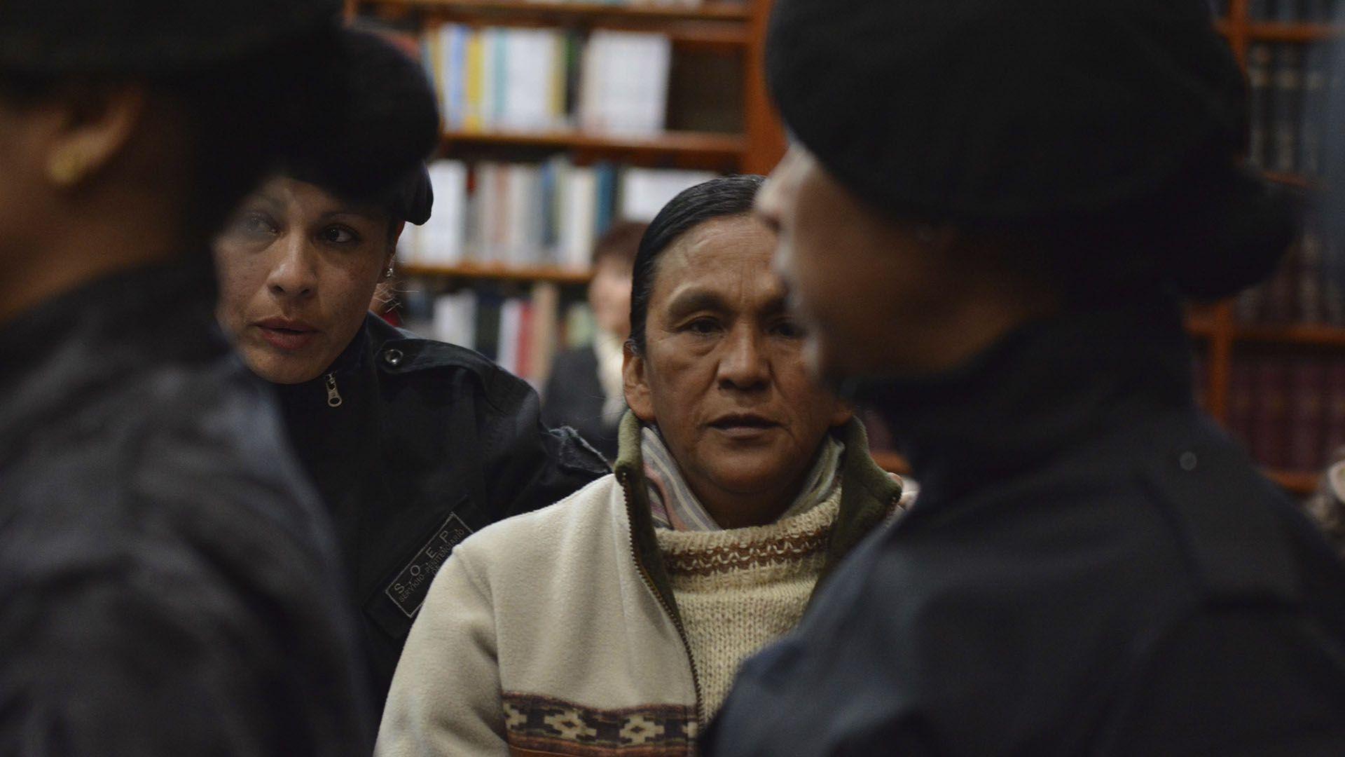 Milagro Sala fue condenada a 13 años de prisión por daño agravado y a 4 años por lesiones graves a un dirigente social de Jujuy (foto Juan Fernández)