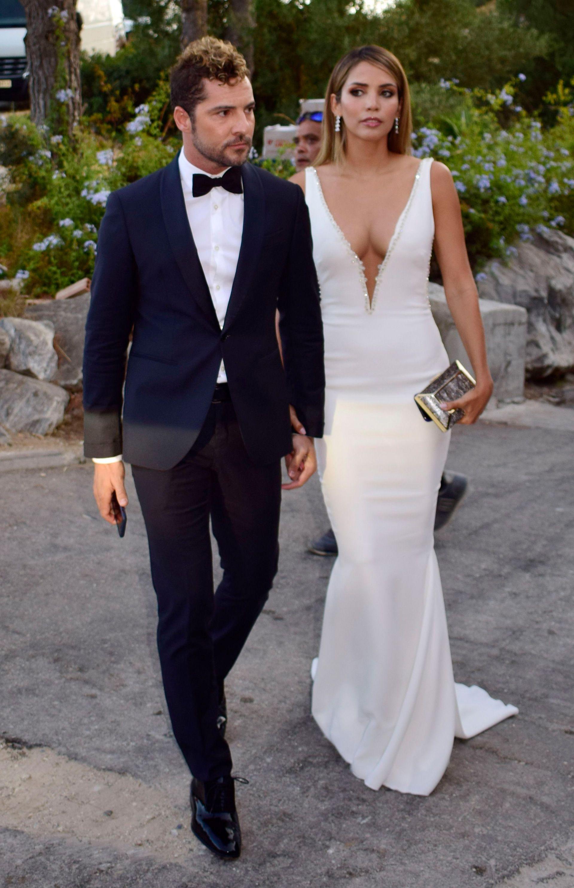David Bisbal y Rosanna Zanetti están casados desde el 2018 (Foto: Lorenzo Carnero/ZUMA Wire/Shutterstock -9788618g-)