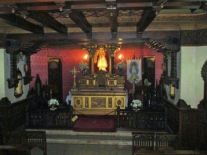 Cripta de la Basílica Catedral de Nuestra Señora de Rosario