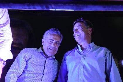 Alfredo Cornejo y Rodolfo Suárez (Cambia Mendoza Prensa)