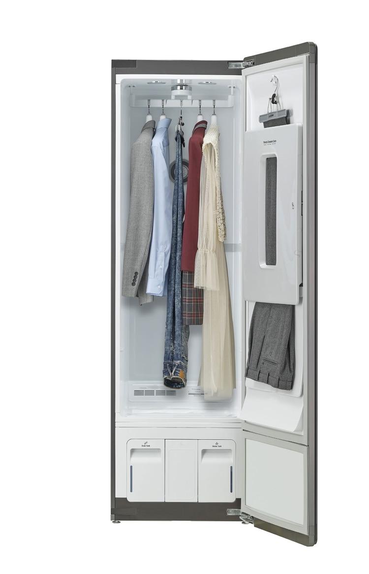 LG Styler, para conservar la ropa recién planchada
