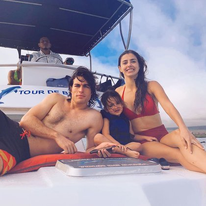 La pareja de actores protagonista de la telenovela Quererlo todo, se mostró muy comunicativa y transparente sobre el estatus de su relación. Foto: Instagram/@danilocarrerah