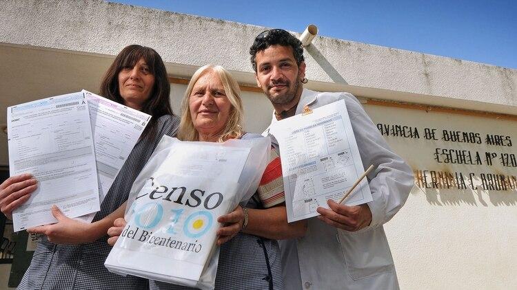 El último Censo Nacional en la Argentina tuvo lugar en 2010, el 27 de octubre. (Foto NA: DOLORES RIPOLL/EL DIA)