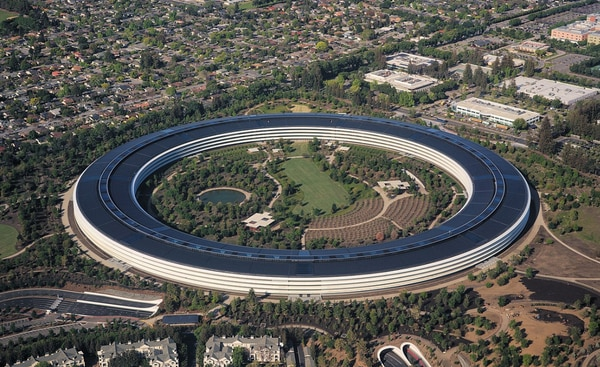 La sede de Apple Inc. en Cupertino, California