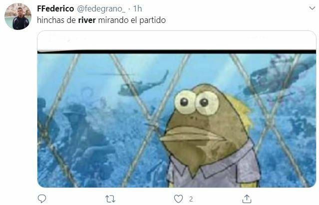 memes contra River por la derrota del Atalanta ante PSG