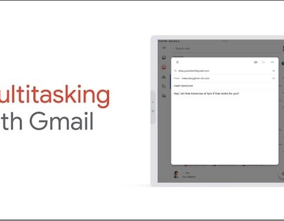 Portaltic.-Gmail ya puede utilizarse en el modo multitarea desde iPad - Infobae