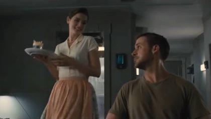 """""""K"""", protagonista en """"Blade Runner 2049"""",  tiene una relación con un holograma (Foto: Especial)"""