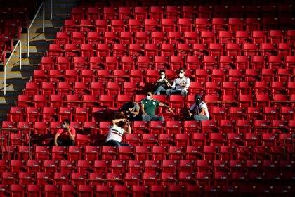 """La FIFA abrió un segundo """"procedimiento disciplinario"""" contra México por el grito discriminatorio que se escuchó en el juego entre el Tricolor Sub 23 y Estados Unidos (Foto: Henry Romero/Reuters)"""