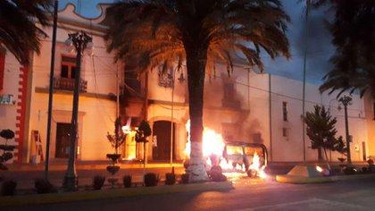 Así quedó el edificio de la presidencia municipal de Libres, en Puebla (Municipio de Puebla)