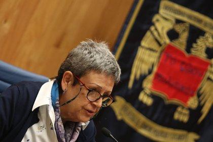 Angélica Cuéllar Vázquez, directora de la Facultad de Ciencias Políticas y Sociales (FCPyS)