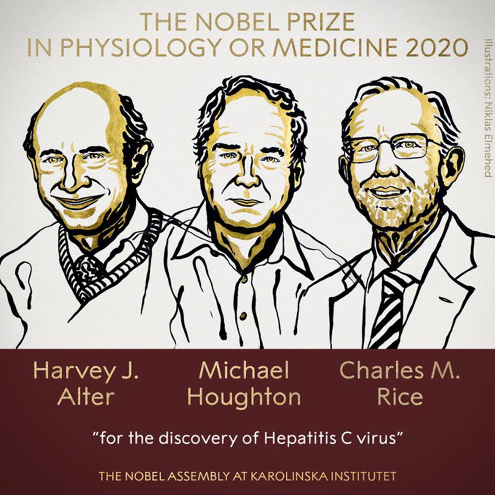 anuncio del premio Nobel de medicina