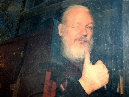 Assange fue arrestado en abril de 2019 (Reuters)