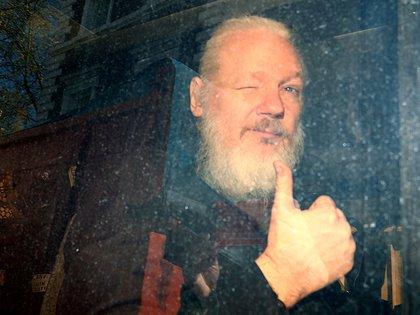 Julian Assange. Reuters Photographer Hannah McKay:/File Photo