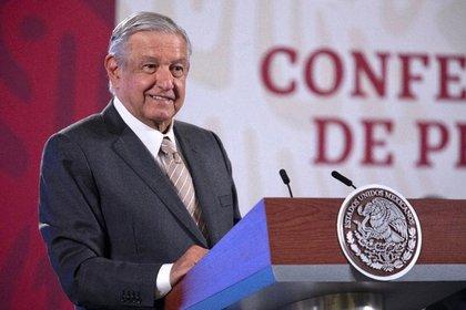De acuerdo con las cifras que presentó AMLO durante la conferencia matutina, en el mes de octubre se crearon 200 mil 641 empleos Foto: Presidencia de México.