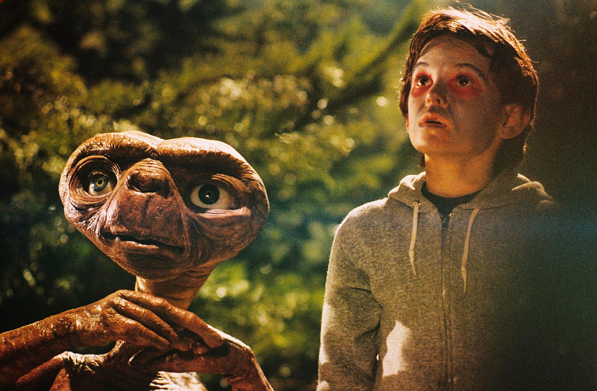 """""""E.T., el extraterrestre"""" (1982)"""