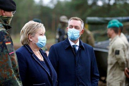 Primera ministra de Noruega, Erna Solberg. REUTERS/Ints Kalnins