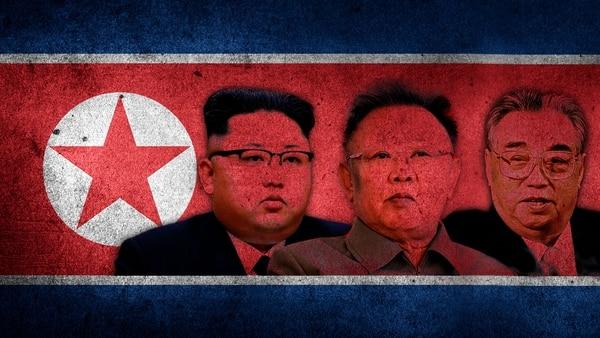 Kim Jong-un, su padre Kim Jong-il y su abuelo Kim Il-sung: los tres dictadores de Corea del Norte autoproclamados Líderes Supremos