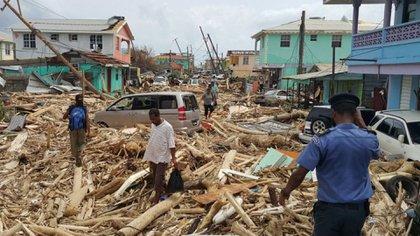 El huracán María dejó 2017 un saldo de poco más de 3.000 muertos en Puerto Rico