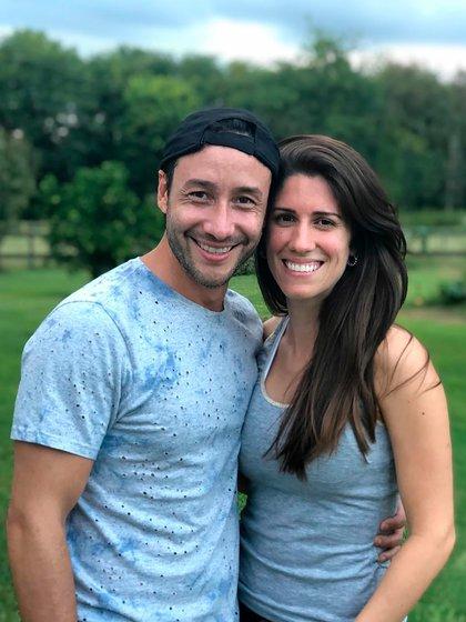 La imagen con la que Luciano blanqueó su romance con Julia (Foto: Instagram @lucianopereyraoficial)