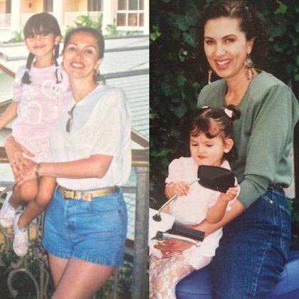 Eiza González junto a su madre, Glenda Reyna (IG: eizagonzalez)