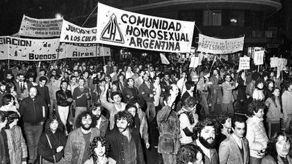 Después de la última dictadura, cuando intentaban hacer oír su reclamo en las marchas por los Derechos Humanos