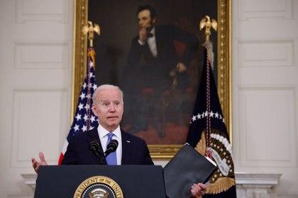 El presidente de Estados Unidos, Joe Biden. REUTERS/Jonathan Ernst