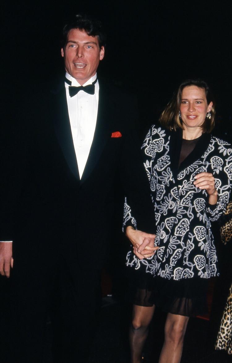 Christopher y Dana Reeve (Shutterstock)