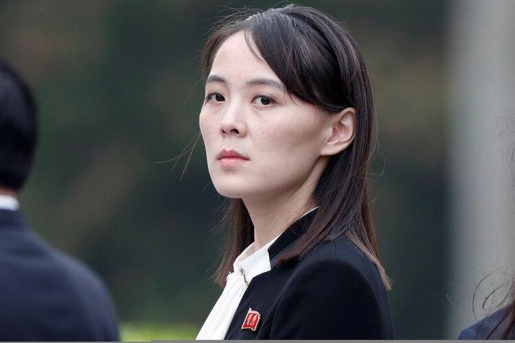 Kim Yo Jong en el mausoleo de Ho Chi Minh en Hanoi, Vietnam, en marzo de 2019. Los ojos del mundo se posan sobre la hermana del dictador norcoreano (Reuters)