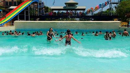 Aquafan, el parque acuático del complejo podría reabrir a mediados de febrero