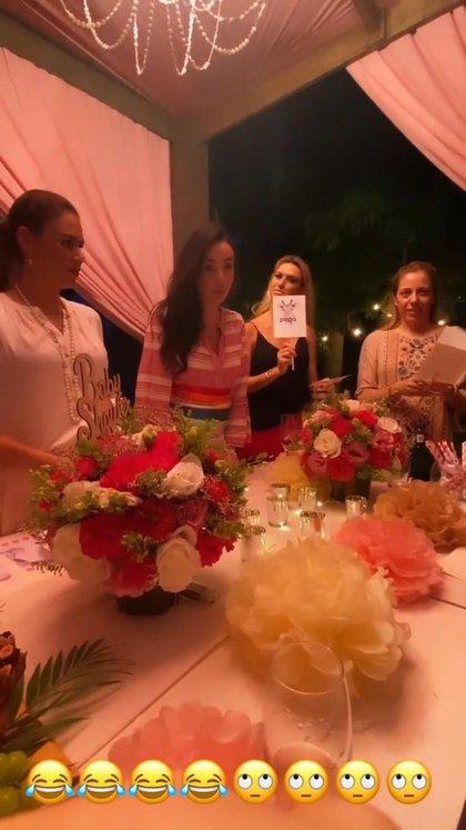 Aspectos del baby shower de Chantal Torres, esposa de Miguel Torruco Garza (Foto: Instagram@chantaltorres)