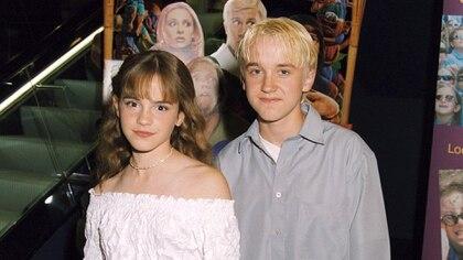Emma Watson y Tom Felton (Shutterstock)