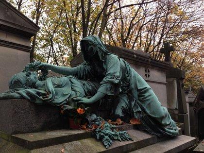 El célebre cementerio de Père-Lachaise fue inaugurado en 1804