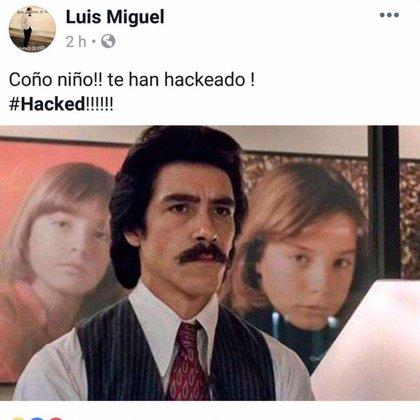 Luisito Rey figuró en el hackeo a la página de Luismi (Foto:Facebook)