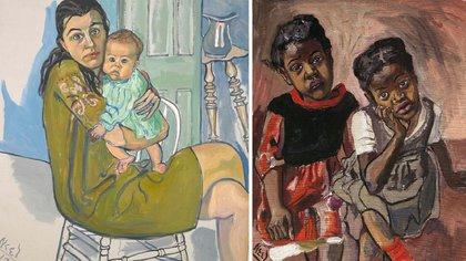 """Nancy y Olivia"" (1967) / ""Dos niñas, Spanish Harlem"" (1959)"