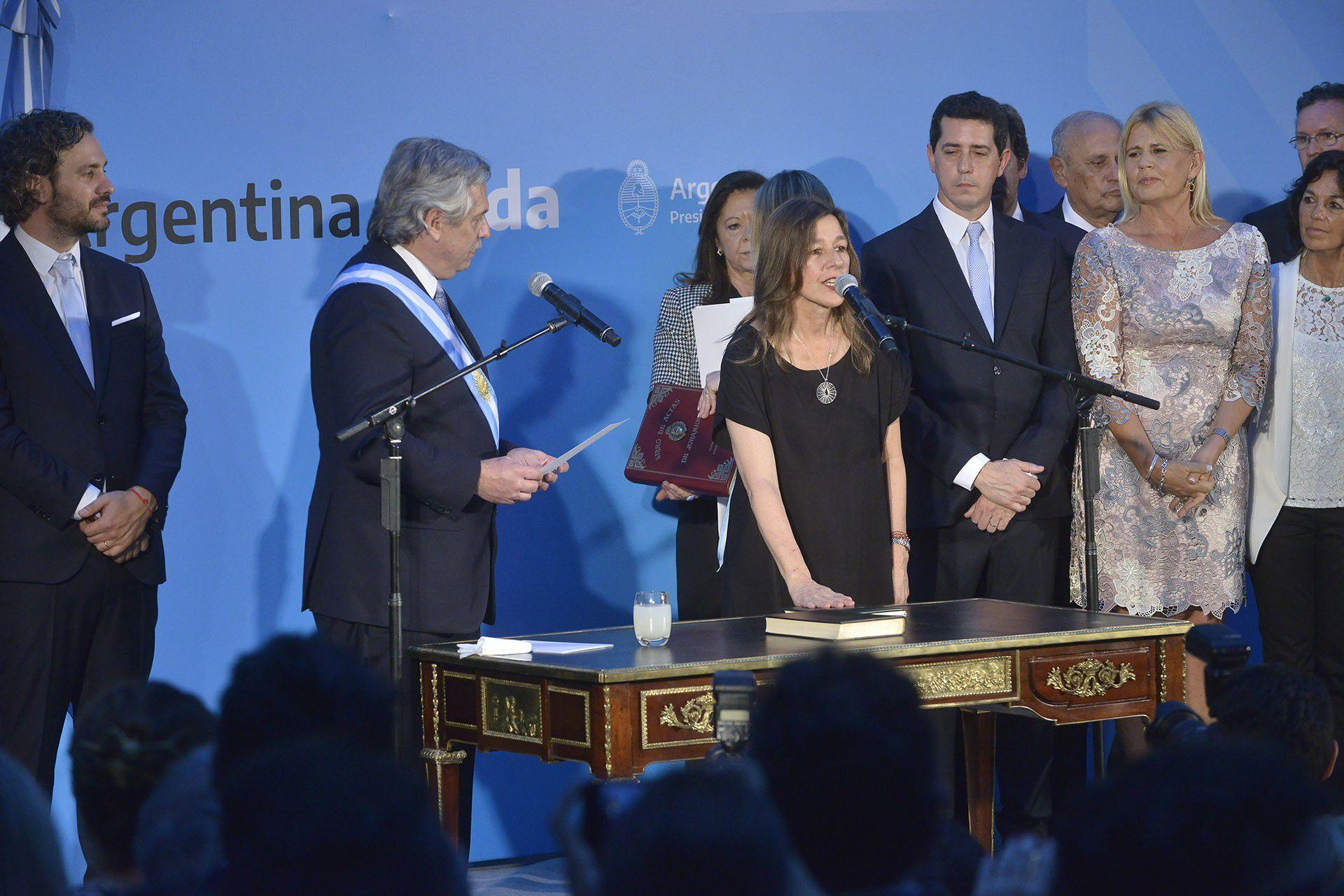 Sabrina Frederic, Ministra de Seguridad de la Nación (Archivo/Gustavo Gavotti)